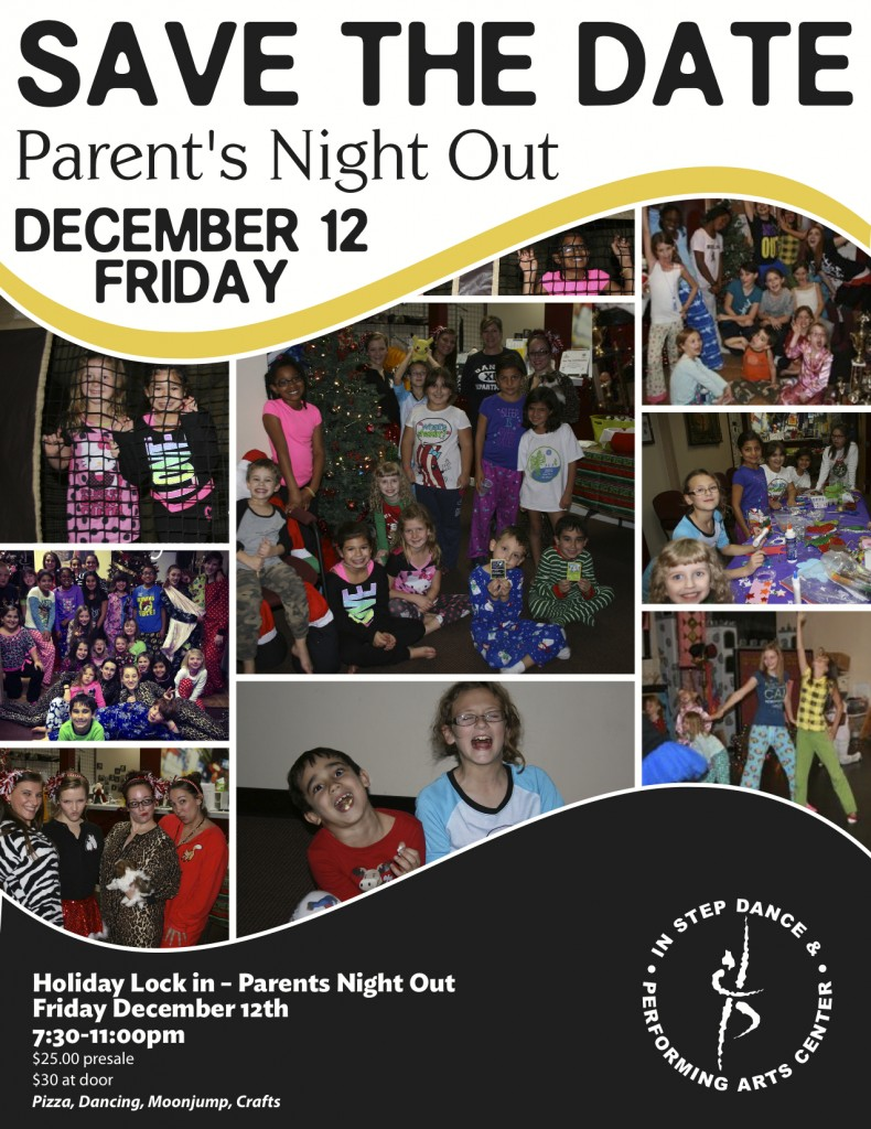 Parents night out flyer2014